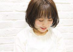 *前髪クルン ボブガール* スタイル写真