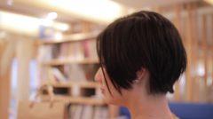 流行りのロブから思い切って バッサリ エッジの効いたショートボブに!!!!  haircut shortstyle ショートスタイル アフター
