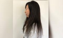 髪質改善ストレート BEFORE